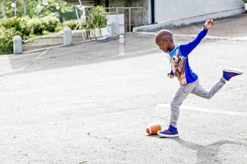 kid footballers , how to engage kids during the holiday
