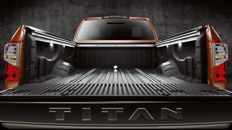 Titan XD bed.