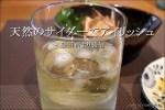 天然の炭酸水「有馬サイダー」でアイリッシュを飲む【自宅】