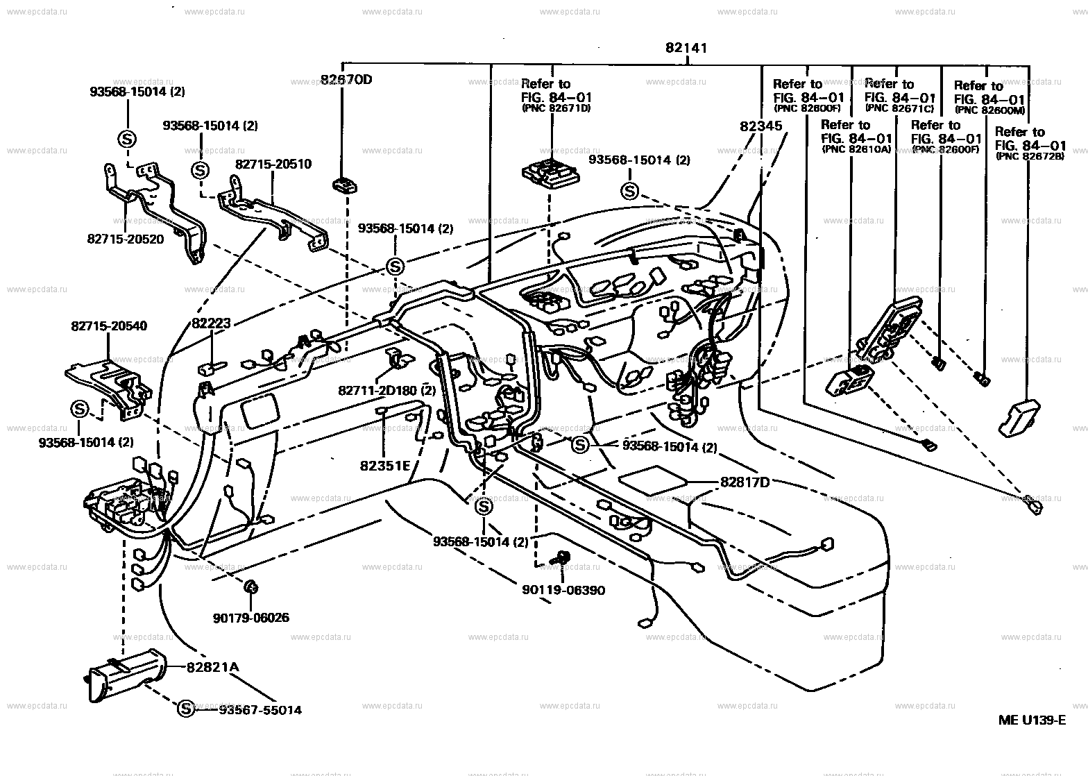 Wiring Amp Clamp For Toyota Carina At190