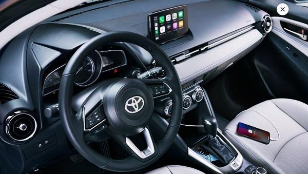2022 Toyota Yaris Hatchback Interior