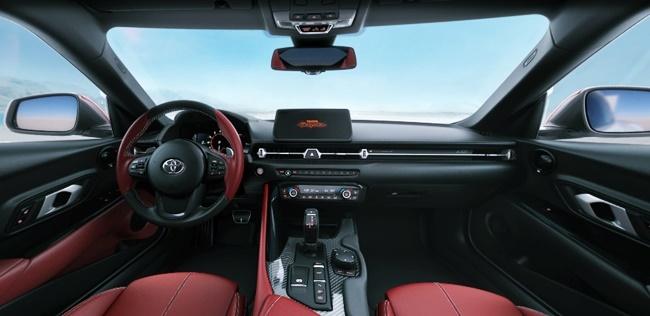 2022 Toyota GR Supra Interior