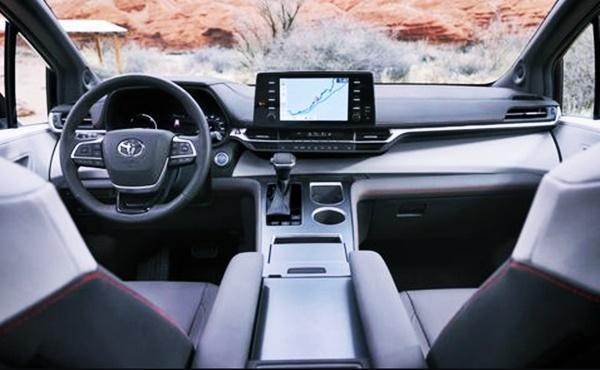 2022 Toyota Sienna Hybrid Interior