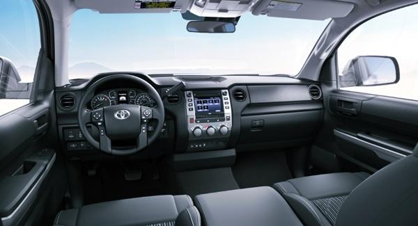 2022 Toyota Tundra Nightshade Interior