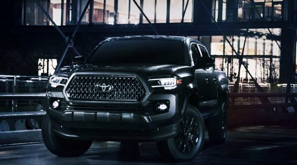 New 2022 Toyota Tacoma Nightshade Edition Price