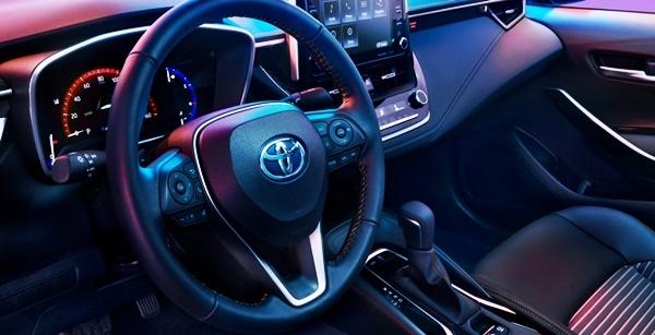 2022 Toyota Corolla Apex Edition Interior