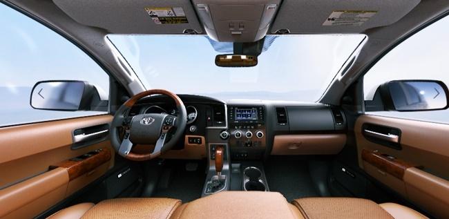 2022 Toyota Sequoia Platinum Interior