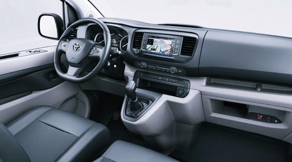 2022 Toyota Proace Interior