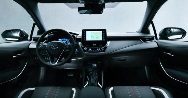 2023 Toyota Corolla GR Interior