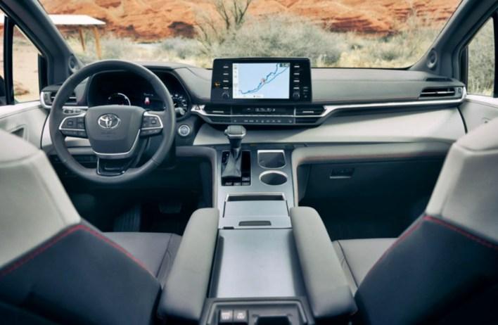 2023 Toyota Sienna Interior