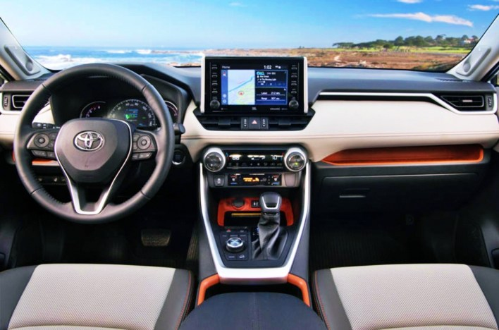 2022 Toyota RAV4 TRD Off-Road Interior
