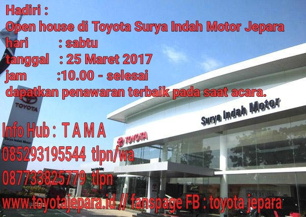 Open House & Test Drive Maret 2017