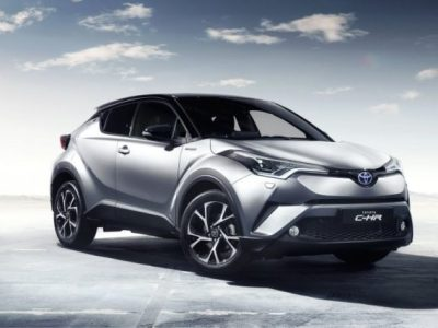 2018 Toyota C-HR front view