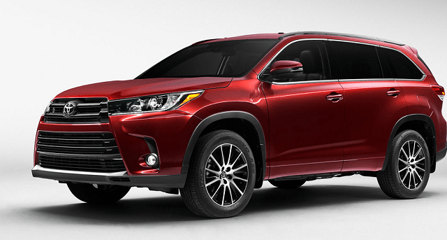 2018 Toyota Kluger side view