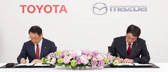 Toyota and Mazda Partnership