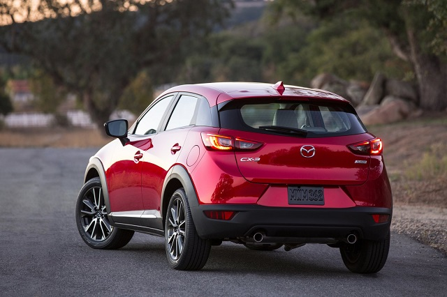 2018 Mazda CX-3 rear view