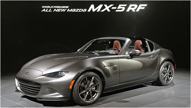 2018 Mazda MX-5 RF - review, specs, convertible, engine ...