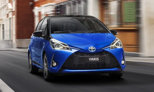 2019 Toyota Yaris front