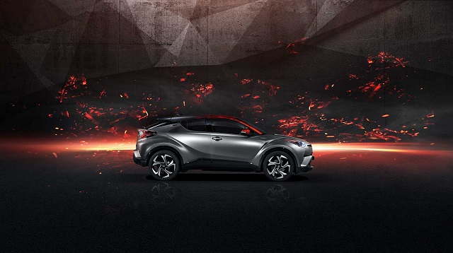 Toyota C-HR Hy-Power Concept side view
