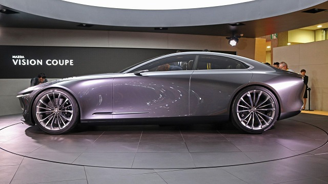 Mazda Vision Coupe side view