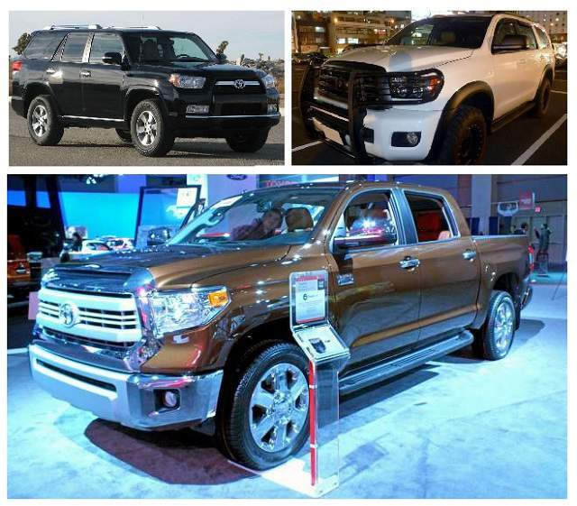 Toyota Tundra, 4Runner and Sequoia Redesign