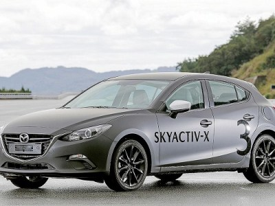2020 Mazda New Generation Technologies front view