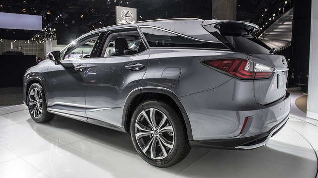 2019 Lexus RX L Three-Row 7-Seat Luxury Crossover rear view