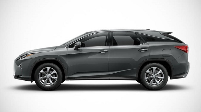 2019 Lexus RX L Three-Row 7-Seat Luxury Crossover side view