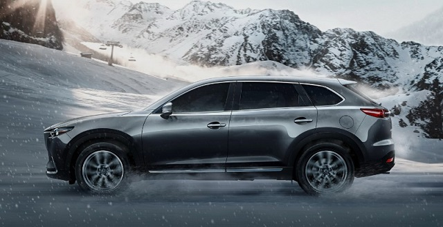 2019 Mazda CX-9 side view