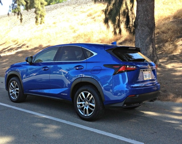 2019 Lexus NX rear view