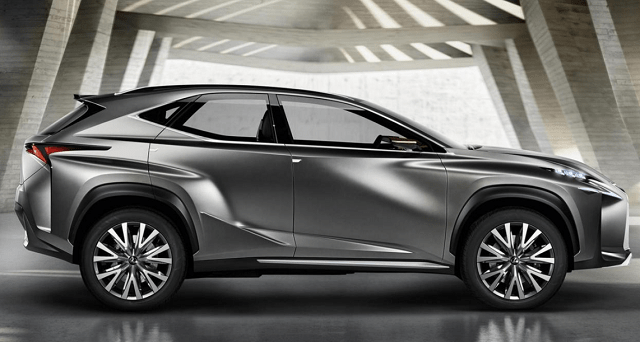 2019 Lexus RX side view