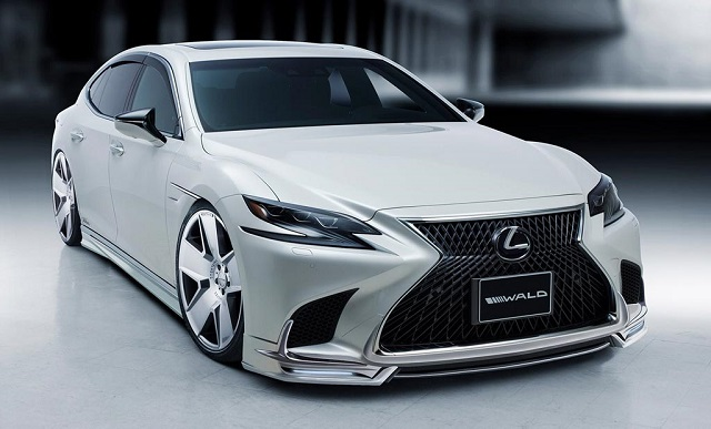 2019 Lexus LS 500h Wald aftermarket version