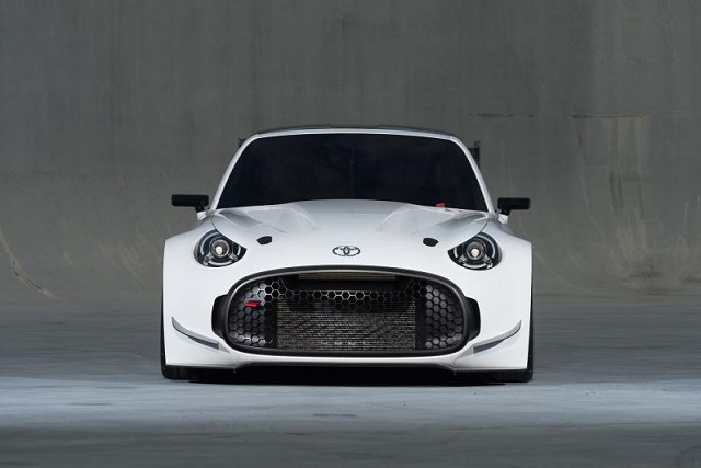 Toyota S-FR Racing Concept front view