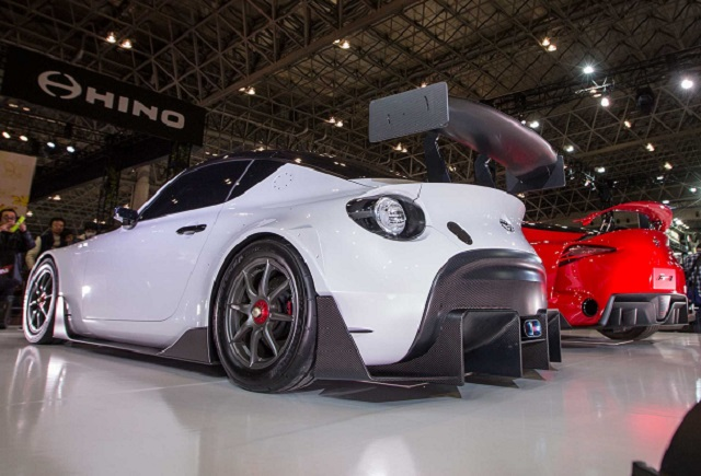 Toyota S-FR Racing Concept rear view