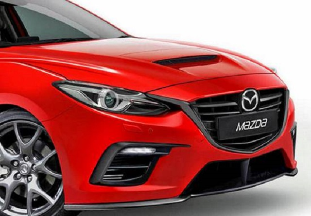 2019 Mazdaspeed 3 front view