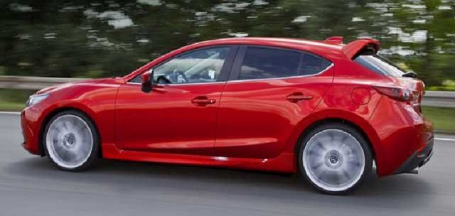 2019 Mazdaspeed 3 side view