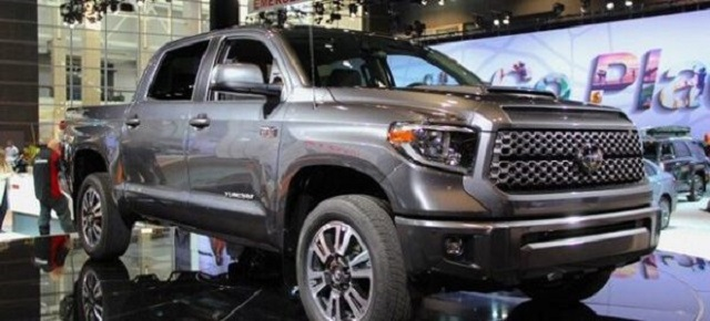 2020 Toyota Tundra Diesel front view