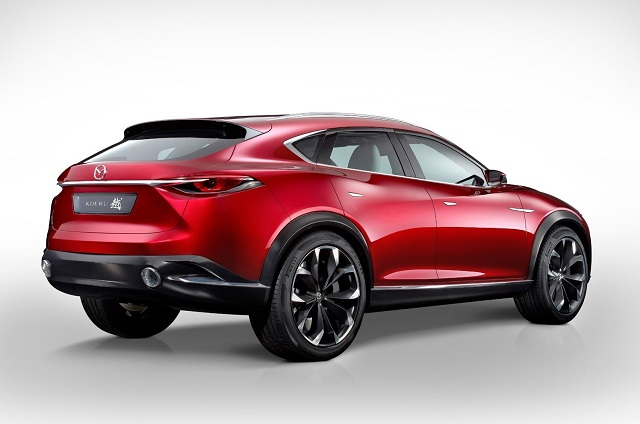 2021 Mazda CX-9 rear view