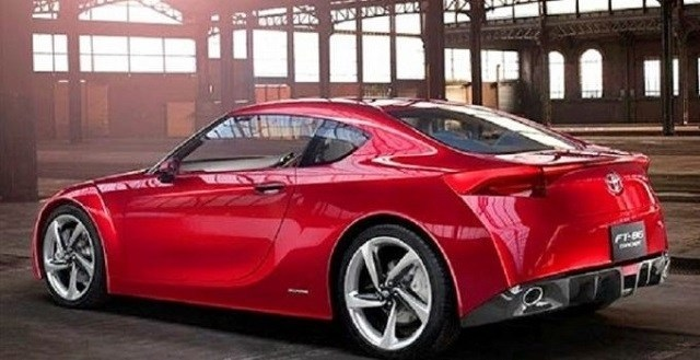 2021 Toyota MR2 rear view