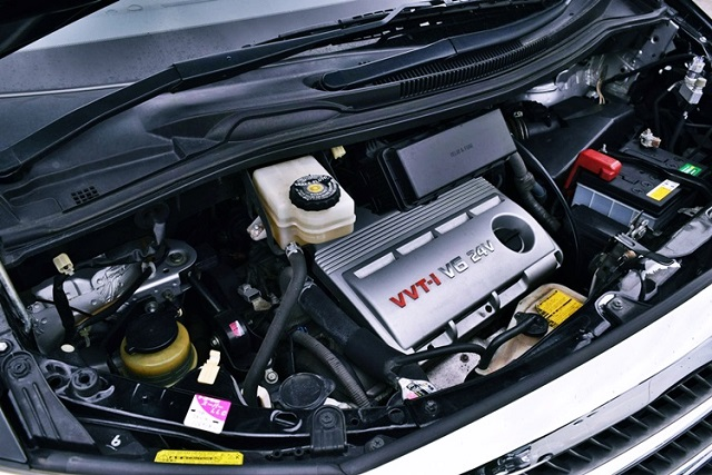 2019 Toyota Alphard engine
