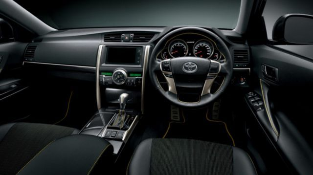 2019 Toyota Mark X interior