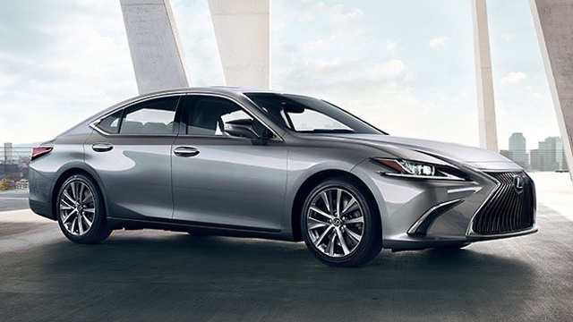 2020 Lexus ES 350 side view