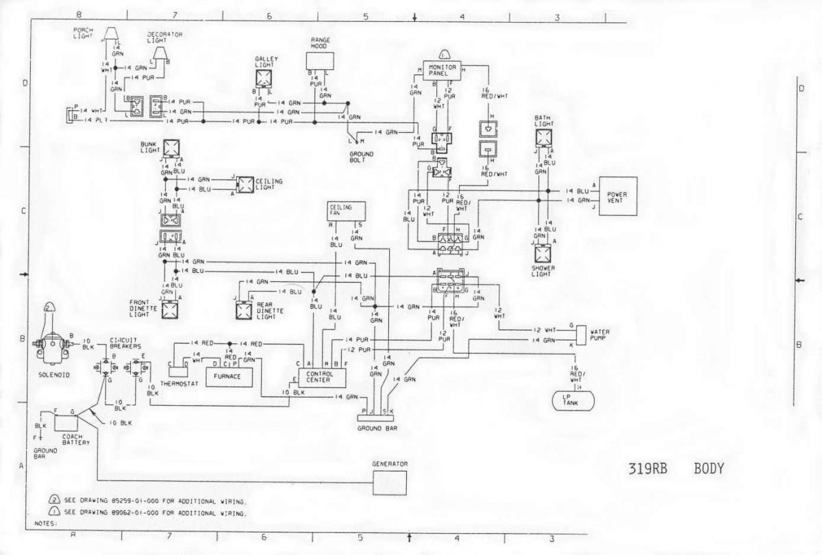 1996 Chevy P30 Motorhome Wiring Diagram