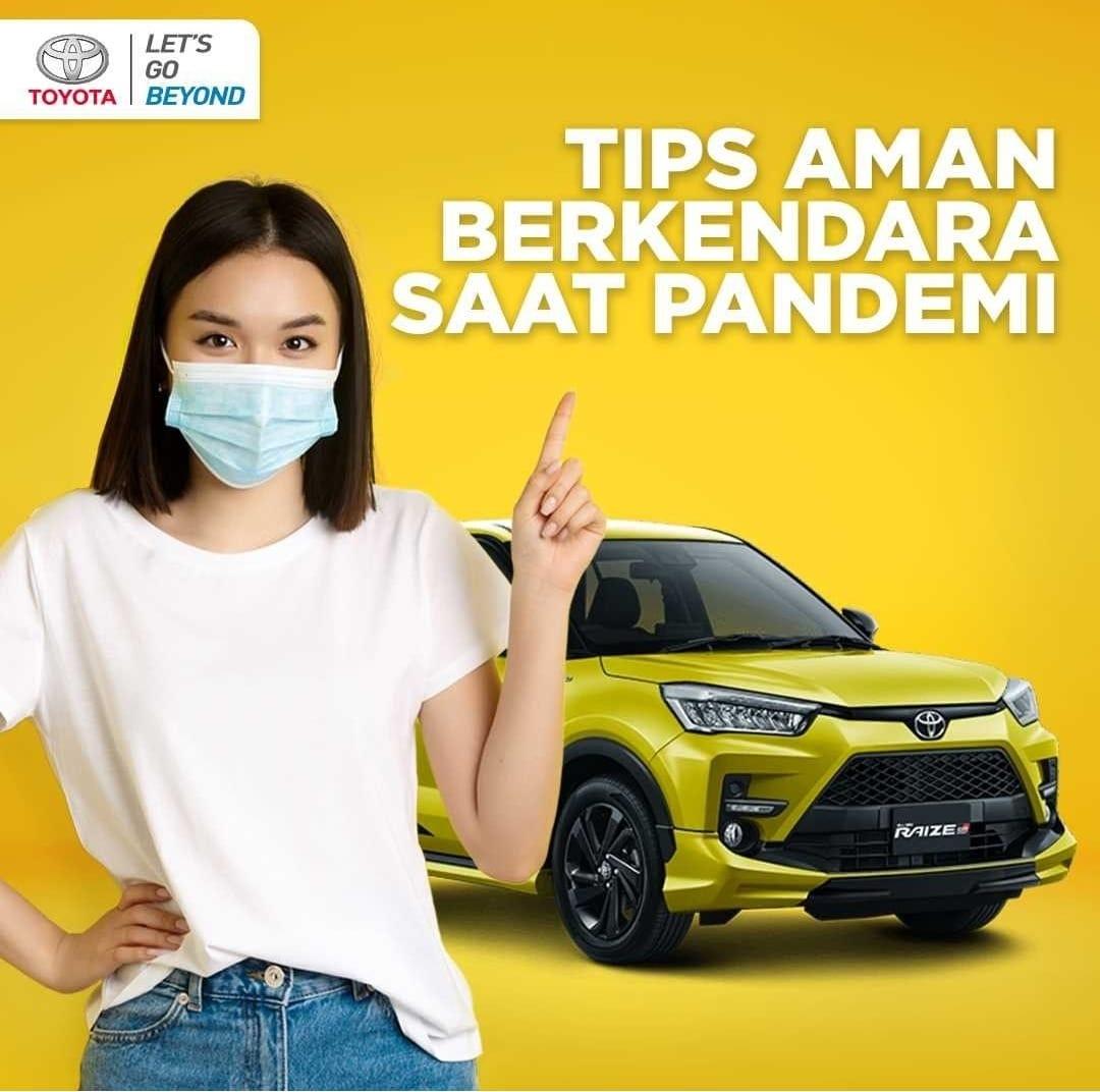 Tips Aman Berkendara saat Pandemi