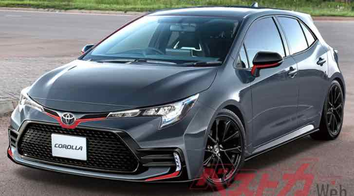 the model: toyota corolla gr 2022 the same year in which a Corolla-based SUV is expected