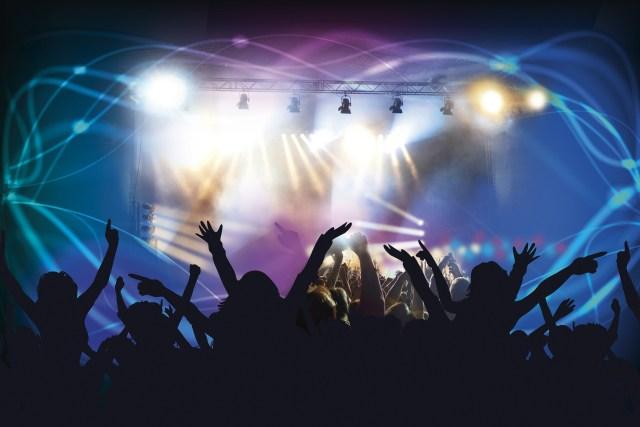 concierto diversión luces música light music