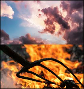 sky hell cielo infierno