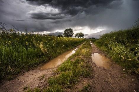 tormenta tempesta lluvia barro tierra