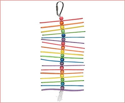 Caitec Paradise Popsicle Stick parrot toy