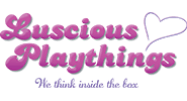 Luscious Playthings Logo and Page Link